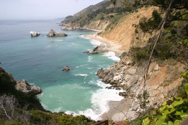Image of cove in Monterey